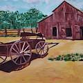 Wagons And Barns by Jill DeFinis