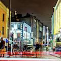 Waiting At Night In Dublin by John Rizzuto