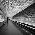 Waiting At Pentagon City Station by Lora J Wilson