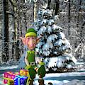 Waiting For Santa by Pennie McCracken