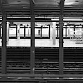 Waiting For The Metro by Sharon Popek