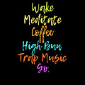 Wake Meditate Coffee Routine by Sourcing Graphic Design