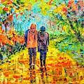 Walk In The Rain by Asha Sudhaker Shenoy