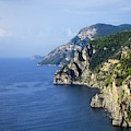 Walking Towards Eternity - Amalfi Coast by Mary Machare