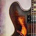 Wall Art Gibson Guitar Art 1744.31 by M K Miller
