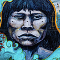 Wall Painting In Ushuaia, Argentina by Lyl Dil Creations