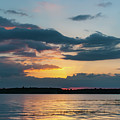 Wando River Sunset - Southern Exposure by Dale Powell
