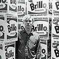 Warhol & Brillo Boxes At Stable Gallery by Fred W. McDarrah