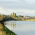 Warkworth Castle And River Aln by Victor Lord Denovan