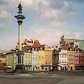 Warsaw On A Sunny Morning by Jaroslaw Blaminsky