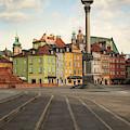 Warsaw - The Old Town by Jaroslaw Blaminsky