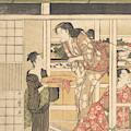 Washing Day by Kitagawa Utamaro