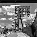 Washington Bridge Nyc Gwb by Susan Candelario