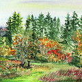 Washington State Fall Impressions by Irina Sztukowski