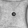 Washington Union Station Ceiling 2 Washington D.c. - Black And White  by Marianna Mills