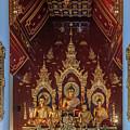 Wat Chang Taem Phra Wihan Buddha Images Dthcm2797 by Gerry Gantt