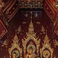 Wat Chang Taem Phra Wihan Buddha Images Dthcm2798 by Gerry Gantt