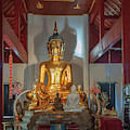 Wat Chet Lin Phra Wihan Buddha Images Dthcm2739 by Gerry Gantt