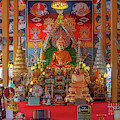 Wat Liab Phra Ubosot Buddha Images Dthu0748 by Gerry Gantt