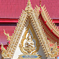 Wat Liab Temple Wall Finial Dthu0781 by Gerry Gantt