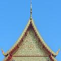 Wat Nong Khrop Phra Ubosot Gable Dthcm2663 by Gerry Gantt