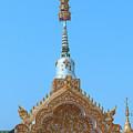 Wat Pa Sang Ngam Temple Gate Dthlu0600 by Gerry Gantt