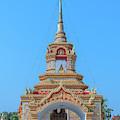 Wat Tham Sangwet Temple Gate Dthlu0536 by Gerry Gantt