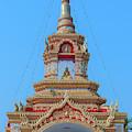 Wat Tham Sangwet Temple Gate Dthlu0537 by Gerry Gantt