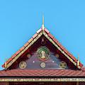Wat Tham Sangwet Tham Phen Phun Practice Hall Gable Dthlu0530 by Gerry Gantt