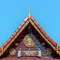 Wat Tham Sangwet Tham Phen Phun Practice Hall Gable Dthlu0532 by Gerry Gantt