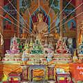 Wat Tung Yu Phra Wihan Buddha Images Dthcm2771 by Gerry Gantt
