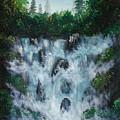 Water Fall  by Manar Hawsawi