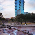 Water Garden Fort Worth 061819 by Rospotte Photography
