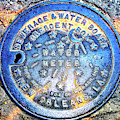 Water Meter Colors In New Orleans by John Rizzuto