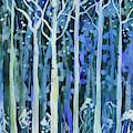 Watercolor - Deciduous Tree Design by Cascade Colors