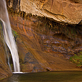 Waterfall Of Calf Creek Falls by Alice Cahill