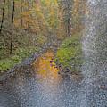 Waterfall Waterdrops by Matthew Irvin