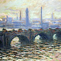 Waterloo Bridge By Claude Monet 1902 by Claude Monet