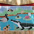 Watkin Park Wetlands Mural by Paul Rebmann