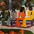 We Shall Not Go To Market Today 1892 by Gauguin Paul