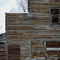 Weathered Unused Building by Kae Cheatham