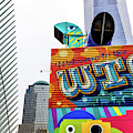 Welcome To The World Trade Center In New York City by John Rizzuto