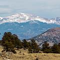 West Face Of Pikes Peak by Steve Krull