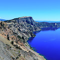 West Rim Of Crater Lake by Dawn Richards
