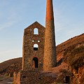 Wheal Coates Mine Chapel Porth Cornwall by Grace Collett