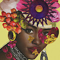 When African Eyes Are Smiling by Mucha Kachidza