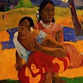 When Are You Getting Married 1892 by Gauguin Paul