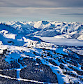 Whistler In Winter by Bruce Block
