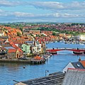 Whitby Harbour, Yorkshire by Martyn Arnold