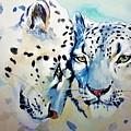 Snow Leopard by ArtMarketJapan
